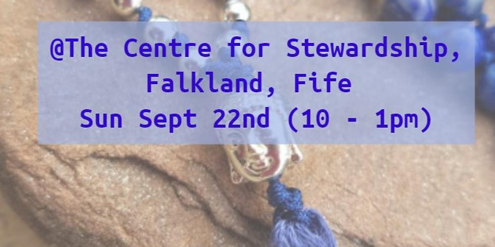 Falkland: Crystal Meditation & Mala Necklace