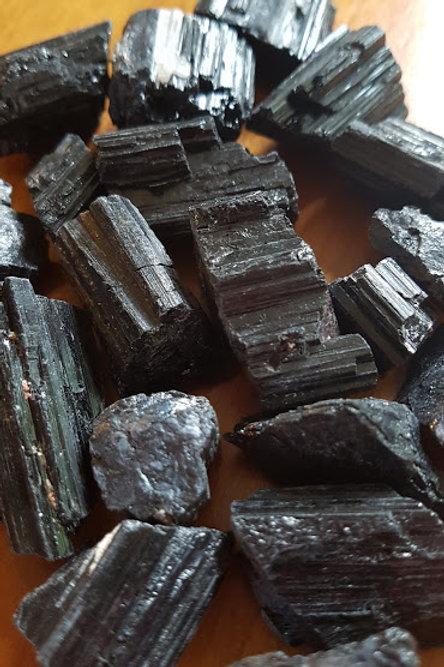Black Tourmaline tumbles