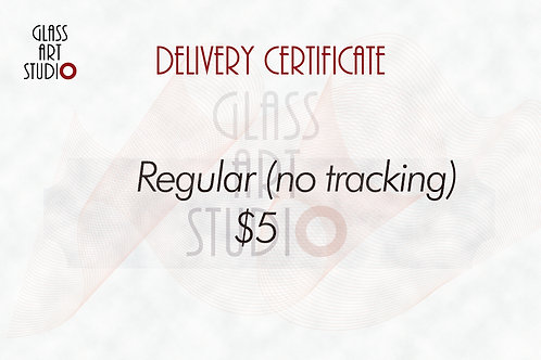 Regular (no tracking) Delivery Certificate