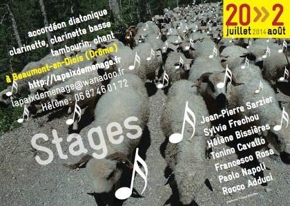 Stages Saint-Pierre 2019 - La Paix Déménage