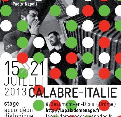 Stage Italie 2013 - La Paix Déménage