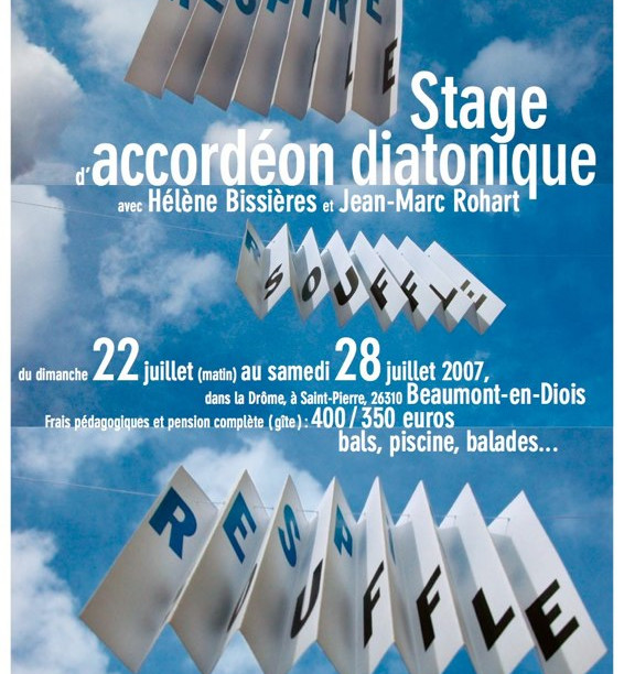 Stages Saint-Pierre 2007 - La Paix Déménage