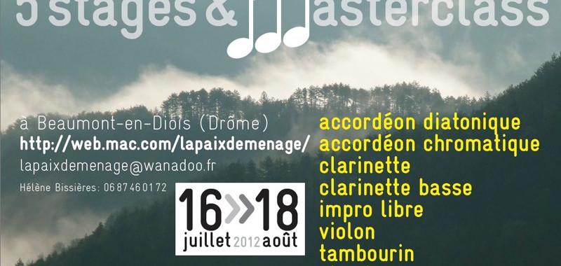 Stages Saint-Pierre 2012 - La Paix Déménage