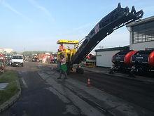 Manutenzione e rifacimento asfalto alla