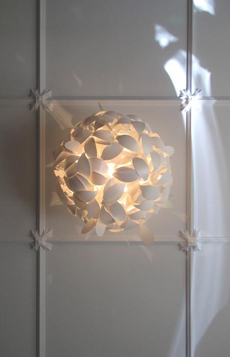 Detail of pendant light.