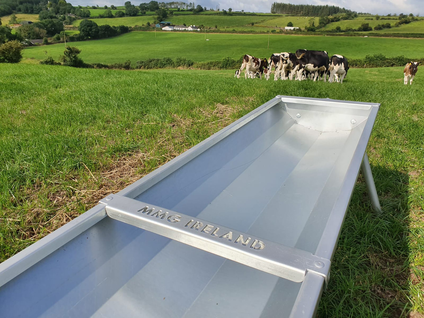 Feed troughs designed with animal needs in mind