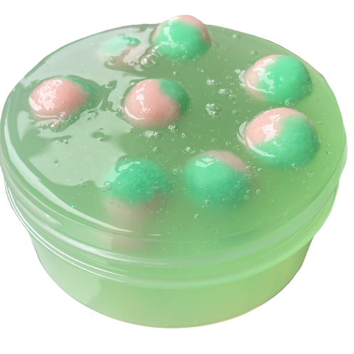 Watermelon Jelly - 8 oz Clear Jiggly Slime