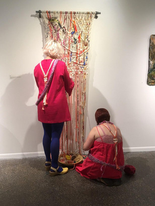 performance at the opening reception 9/15