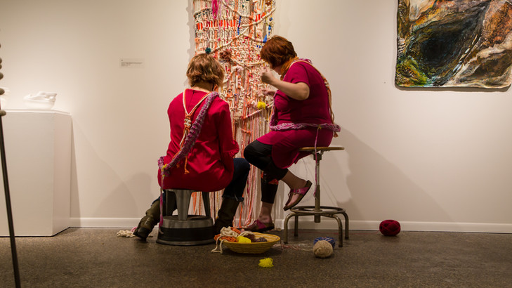 Final day performance in gallery