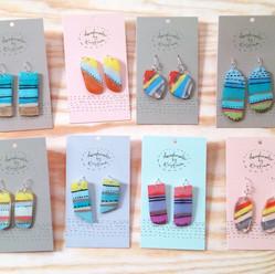 Recyled Earrings