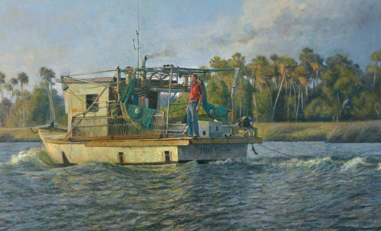 Shrimper on Crystal River