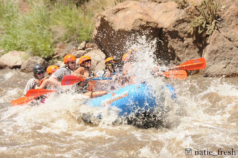 white-water rafting royal gorge