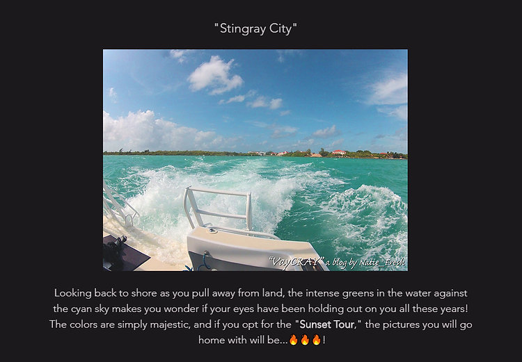 stingray city writing sample w photo .jp