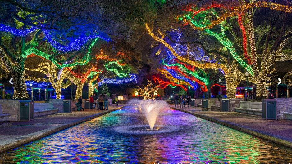 """""""Zoo Lights"""" in Houston (w/ Video)"""
