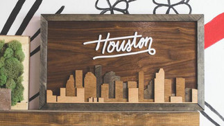 Houston on My Wall