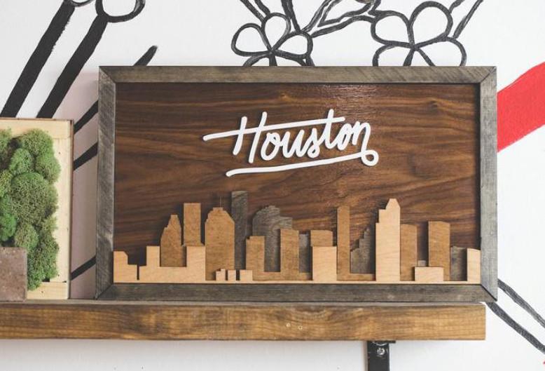 Houston on My Wall