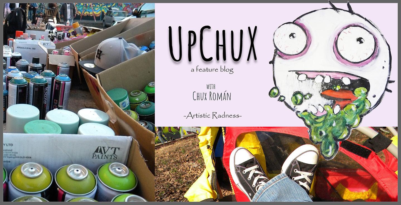 UpChux, an art blog wth Chux Román