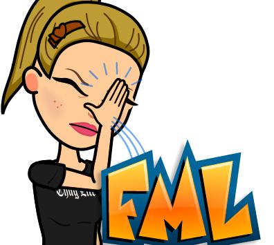 "White Girl Wonders... ""What's FML?"""