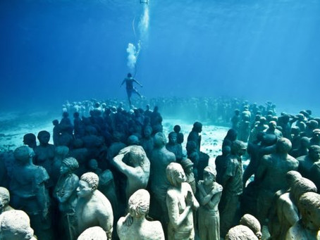 The Underwater Sculptor par Excellence: Jason deCaires Taylor in Seven installations
