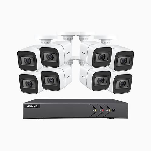 E800 - True 4K Ultra HD DVR-säkerhetskamerasystem med 4 TB hårddisk