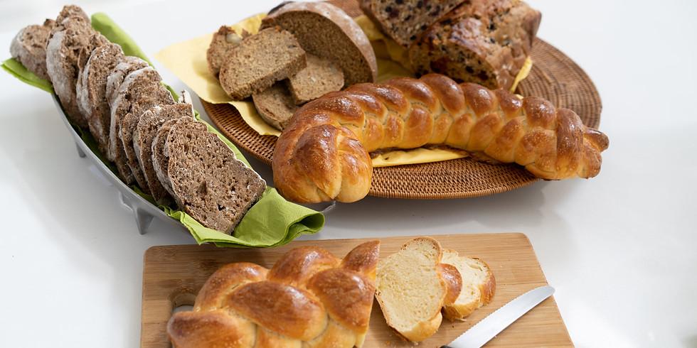 Intensive bread making class