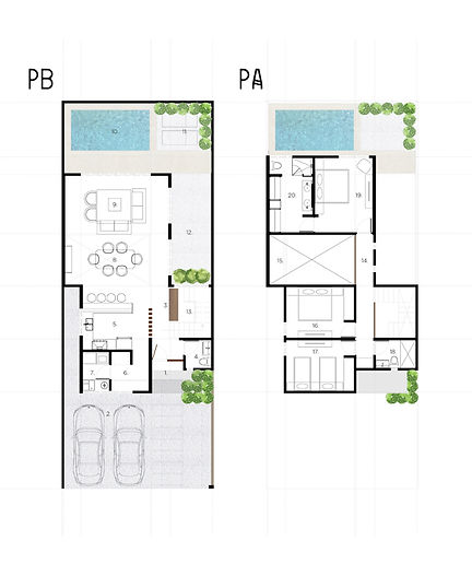 House plans call for space and privacy