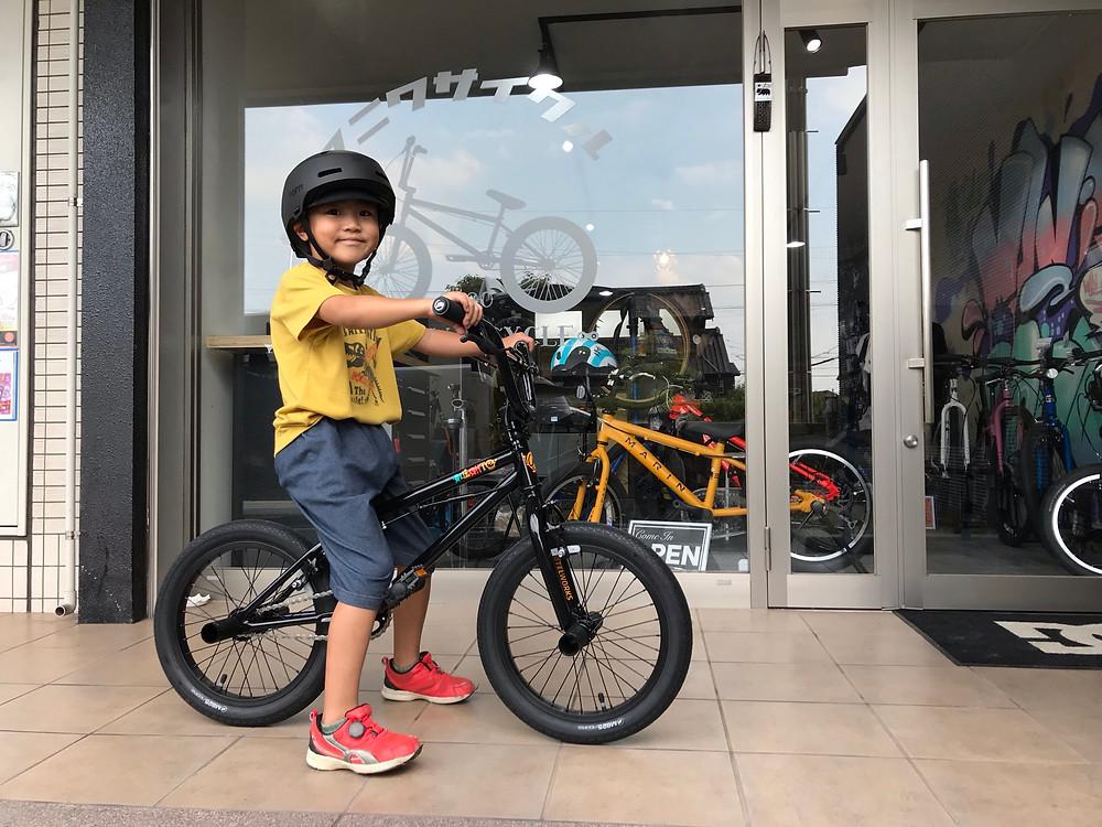 愛知県/知多半島/東海市/キッズバイク/ヨツバサイクル/BMX/MOTELWORKS/MANI輪サイクル/マニワサイクル/MANIWACYCLE
