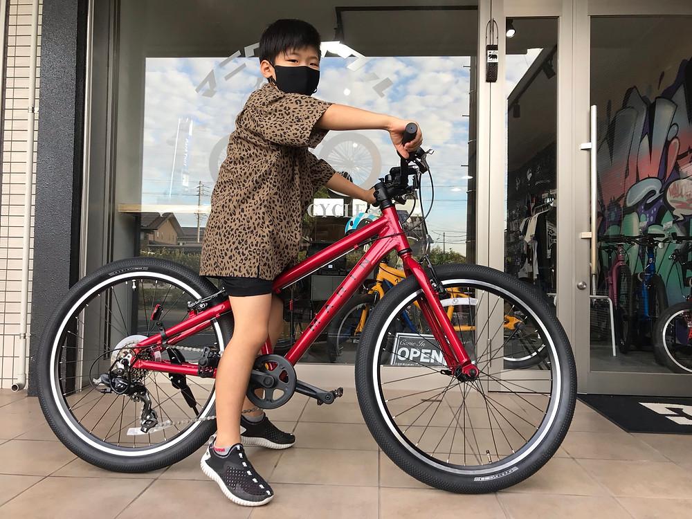 愛知県/知多半島/東海市/キッズバイク/MARINBIKES/ドンキージュニア/MANI輪サイクル/マニワサイクル/MANIWACYCLE