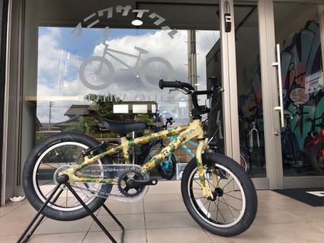 【DONKY JR.16】限定の迷彩カラーが手に入る!狙うは今期最後のMARINBIKESのキッズバイク!!
