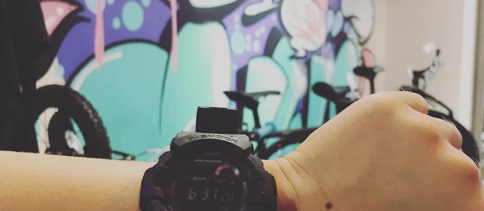 ★G-SHOCKデビュー!!★小学3年生が腕時計にこのモデルをチョイス!