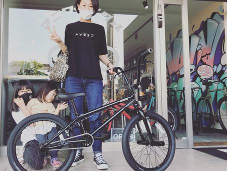 ★BMXをお子さんと楽しみたい!!★世代的に自転車=BMXだったそうです!