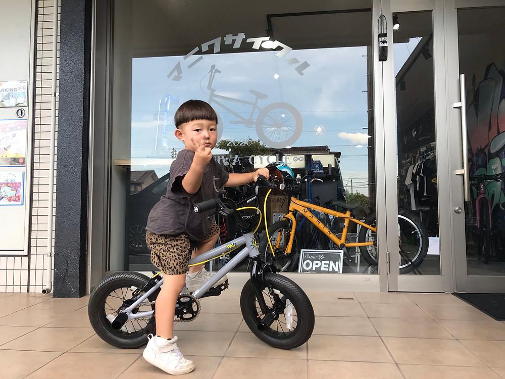 愛知県/知多半島/東海市/キッズBMX/キッズバイク/BMX/MOTELWORKS/MANI輪サイクル/マニワサイクル/MANIWACYCLE
