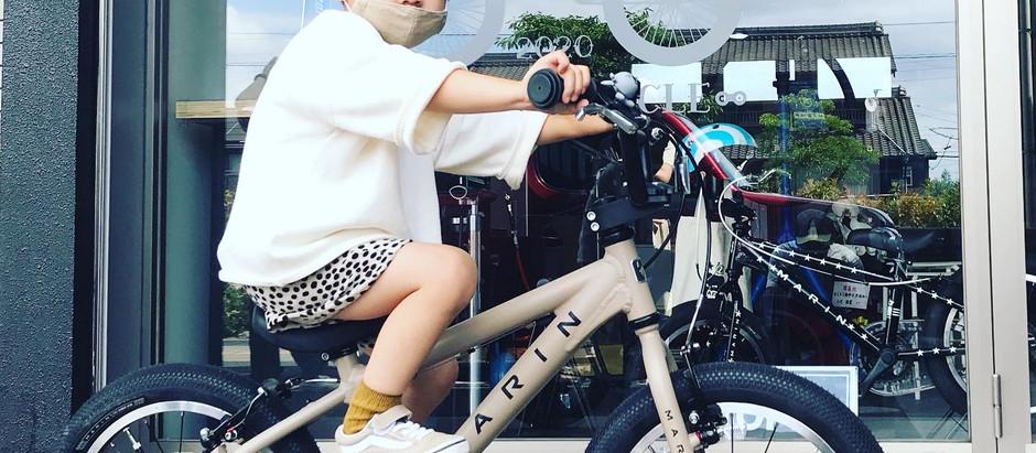 ★素敵なマットなモカカラー!!★マリンバイクス/ドンキー ジュニア 16+コアラのフロントライト!