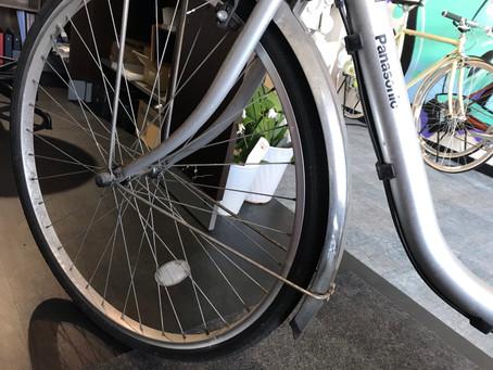★パンク修理★電動自転車も対応させて頂きました!
