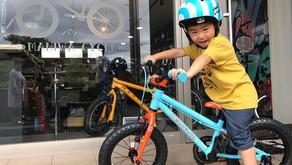 """★可愛カッコいい自転車がほしい!!★ご家族全員で""""祝:初めての自転車""""!"""