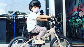★MARINBIKES/Donky Jr.16 × BERN/NINO★自転車とヘルメットのこの組合わせが人気!!