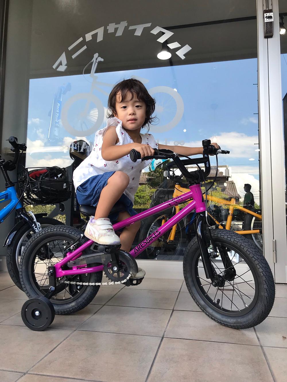 愛知県/知多半島/東海市/キッズバイク/ARESBIKES/A-KID/MANI輪サイクル/マニワサイクル/MANIWACYCLE