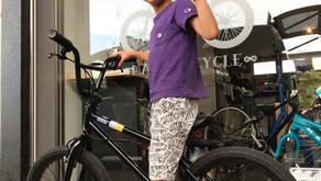 ★東京オリンピックを見た足でご来店!★自転車好きキッズが選んだフリースタイルBMX!!