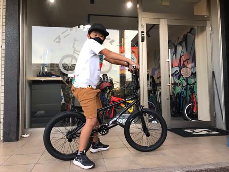 """【小学生BMXライダー】選んだバイクは軽量アルミフレームのフラットモデル""""ARESBIKES / ADIT AL""""!"""