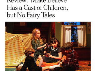 Review - New York Times on Make Believe