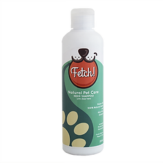 Fetch! Neem Natural Shampoo that moisturizes, rids of ticks & fleas, and geantly cleanses. Great for dogs & cats with sensitive skin. FDA registered making it a safe to use for human hair too!