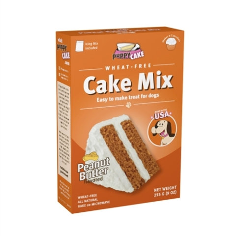 Puppy Cake Mix and Frosting (Wheat-free) for Dogs