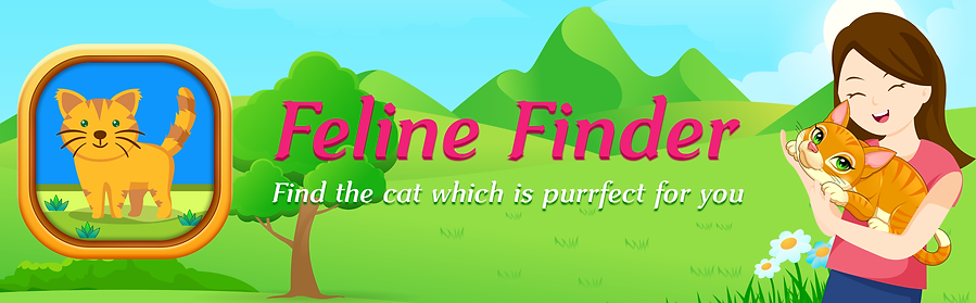 Feline Finder iOS App Image