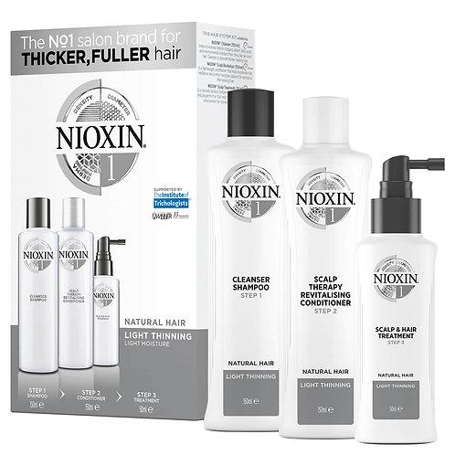 Nioxin Hair System Trial Kit 1 150ml