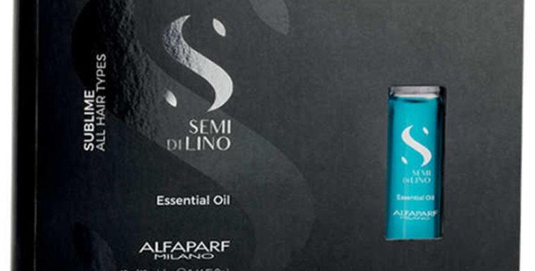 Alfaparf Semi Di Lino Sublime Illuminating Essential Oils 12 x 13ml