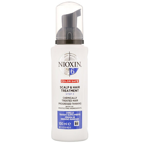 Nioxin Scalp and Hair Leave-In Treatment System 6 100ml