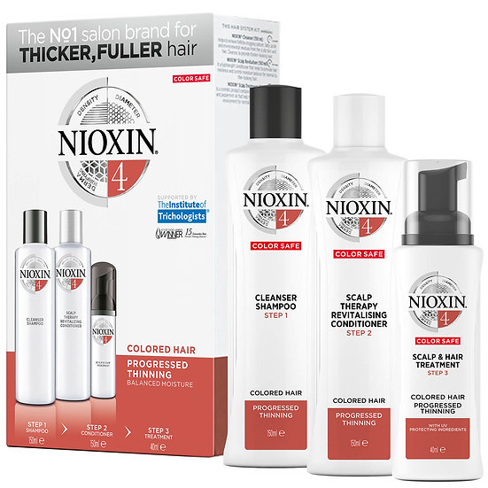 Nioxin Hair System Trial Kit 4 150ml