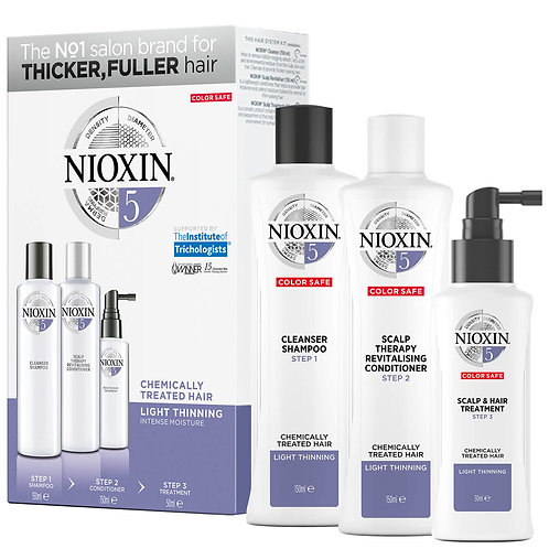 Nioxin Hair System Trial Kit 5 150ml