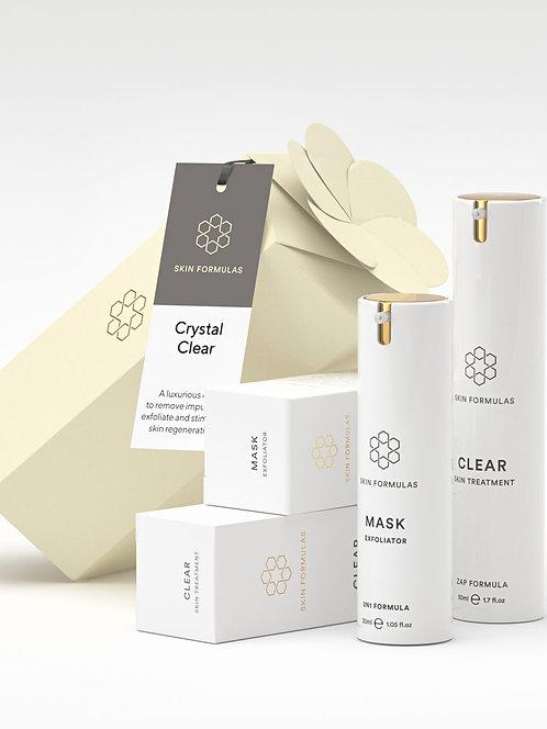 Skin Formulas Crystal Clear Gift Set
