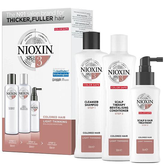 Nioxin Hair System Loyalty Kit 3 300ml